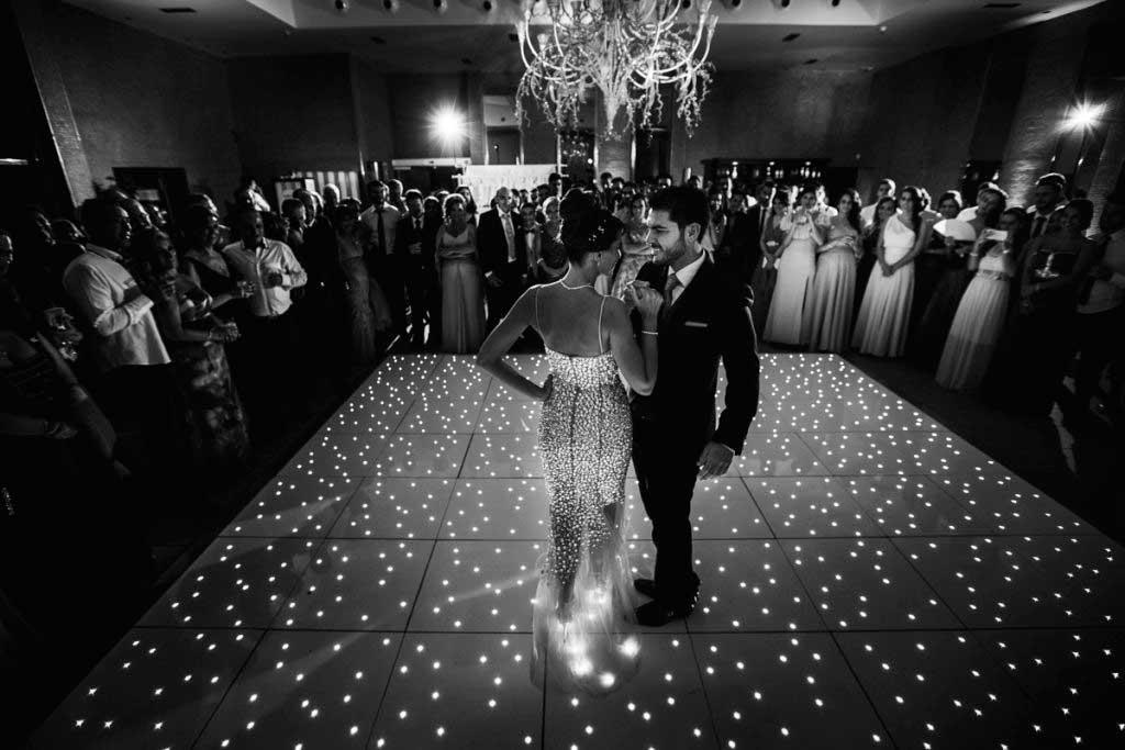 exponerse a la fotografía en una pista de baile