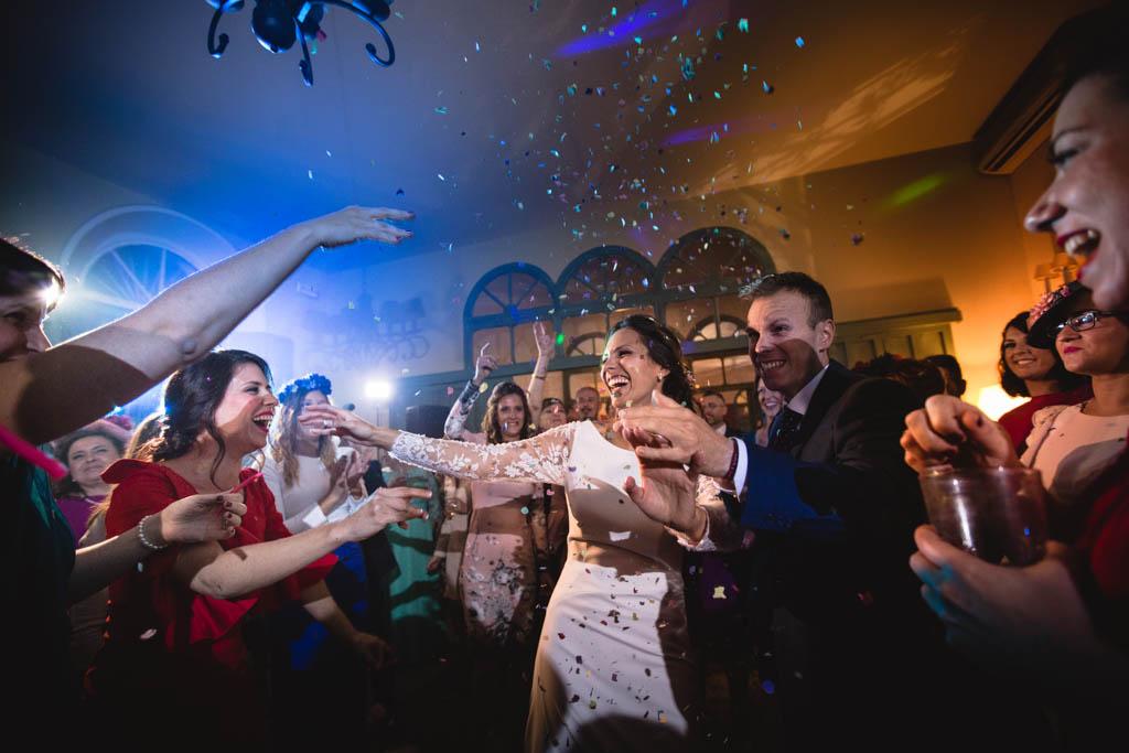 Celebración de boda en Córdoba. Nati y Víctor, El Capricho