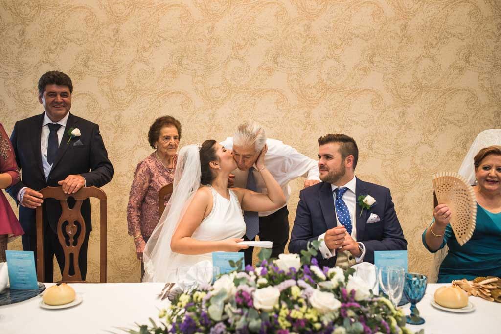 Boda en Montoro, con sus abuelos