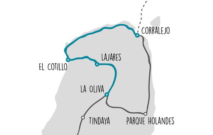Bikepacking Corralejo - El Cotillo - La Oliva