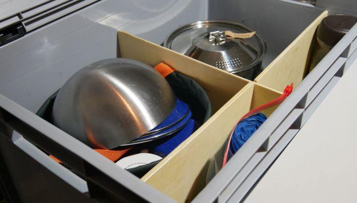 Küchenbox Innenansicht