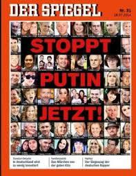 Spiegel-Cover: Putin und die Toten aus der MH 17