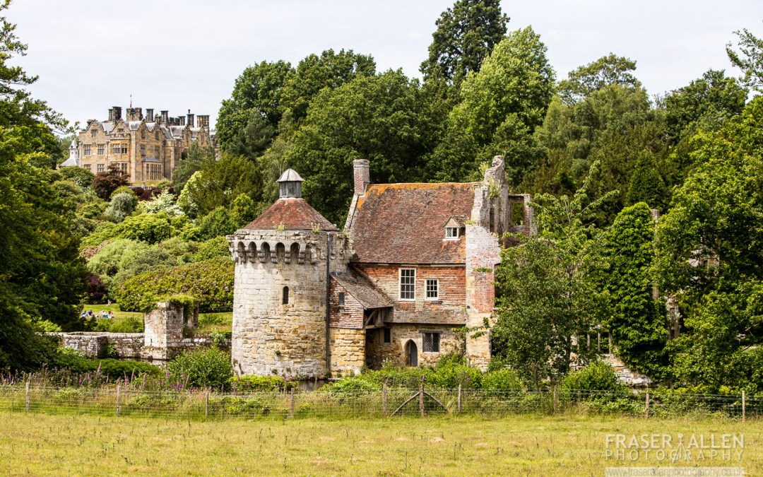 Scotney Castle in summer