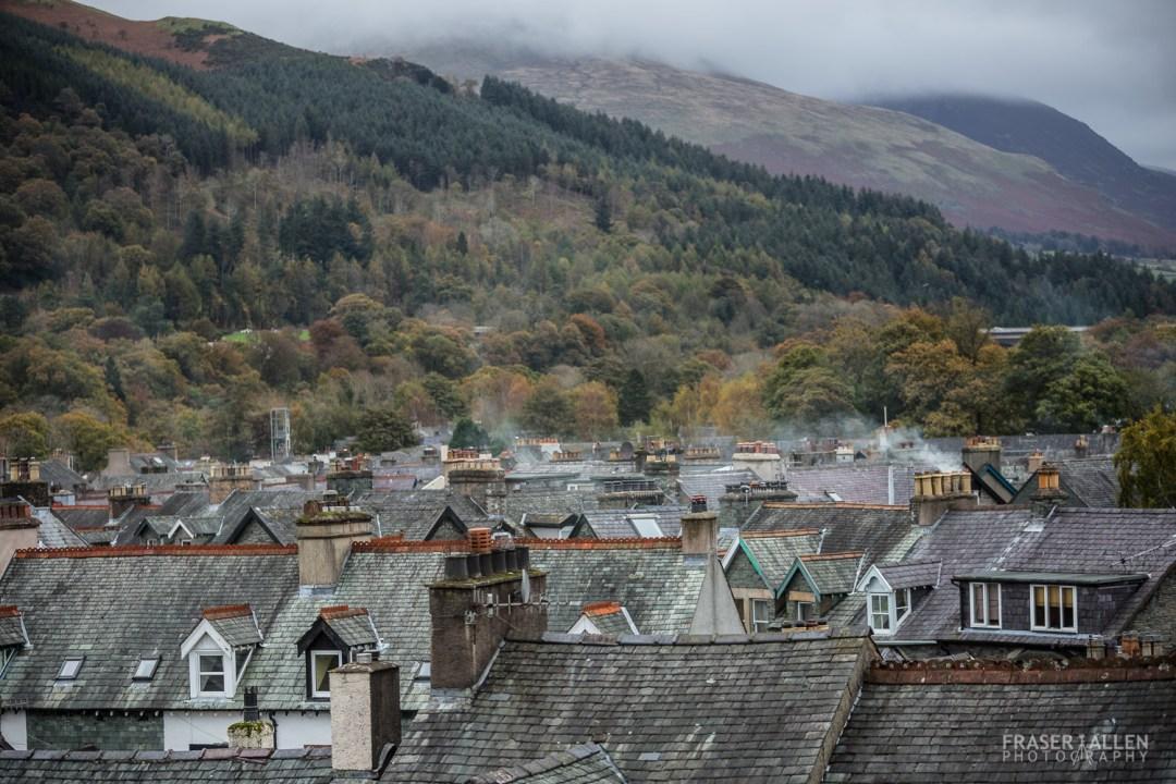 Keswick rooftops