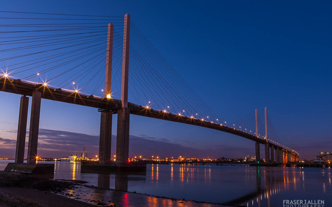 An afternoon well spent below the Dartford Crossing