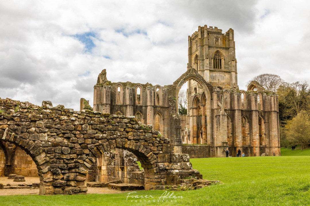 Fountain's Abbey in the Yorkshire Dales