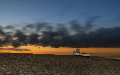 Sunset at Dungeness