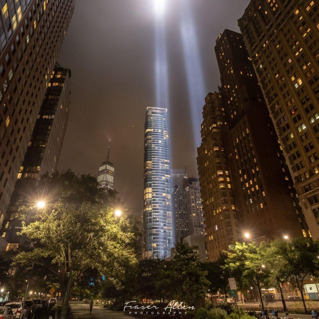 The 9-11 beams
