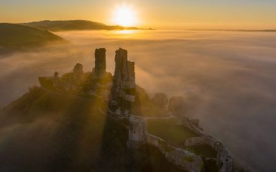 A day at Corfe Castle