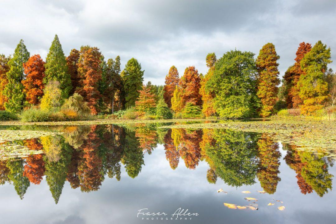 Autumn reflections at Marshall's Lake