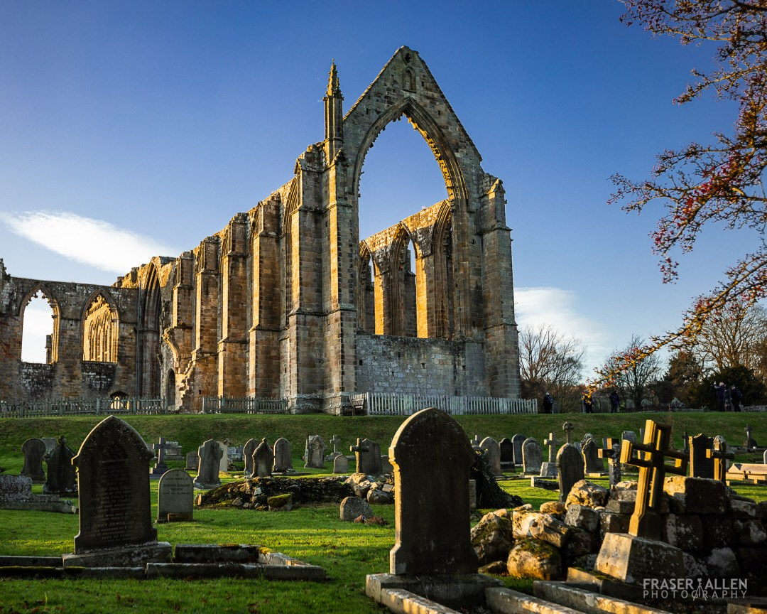 The Priory Church ruins at Bolton Abbey