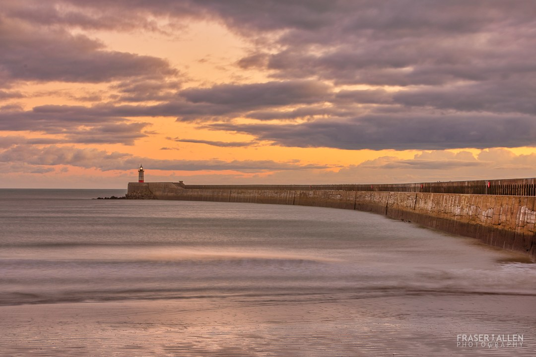 evening at Newhaven Pier