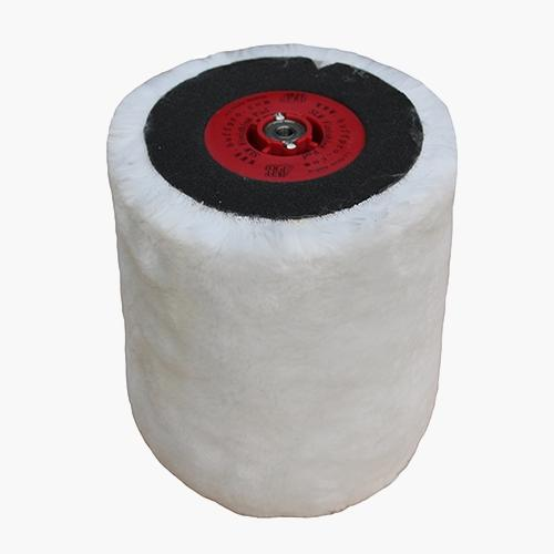 buff pro wool polishing pad aluminium