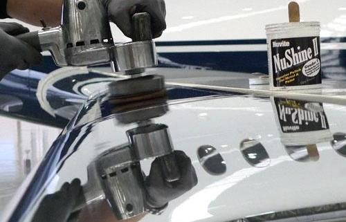 aircraft aluminium polishing