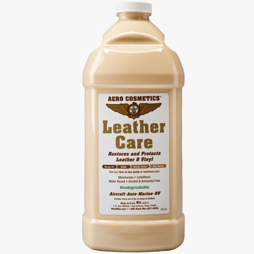 aircraft leather care