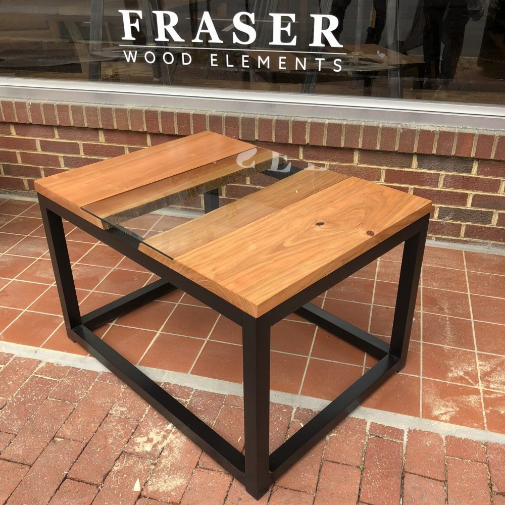 small river cherry coffee table