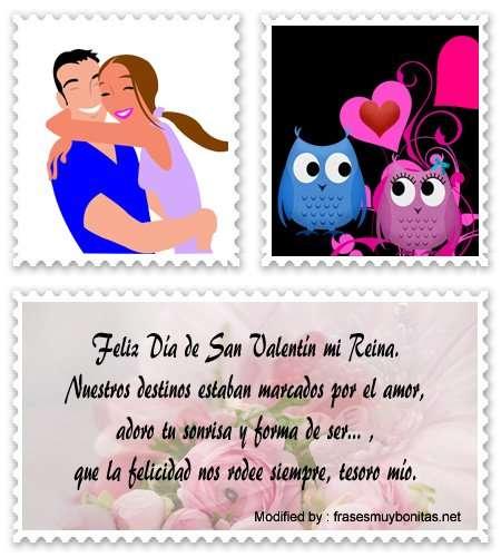 Las tarjetas de feliz cumpleaños con mensajes lindos, las puedes enviar agradeciendo la amistad y amor que te dan aquellas personas que están a tu lado. Frases Por El Dia De San Valentin Frases De Amor Para 14 De Febrero