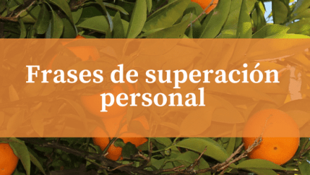 Frases de superación personal