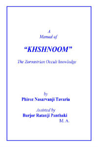 A Manual of Khshnoom