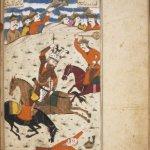 Rostam Nameh 10:Kai Kobad. Ascent of Kai Kaus. His ill-fated expedition to Mazandran