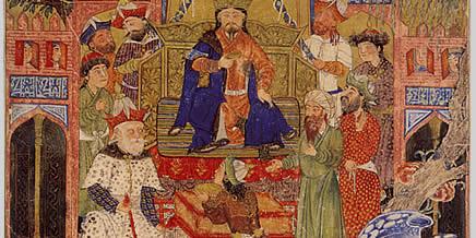 Rostam Nameh 9A: Padshah Zav and Keresasp