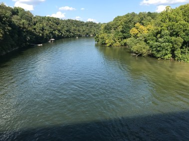 Caney Fork River is just a mile and a half downhill from this property.