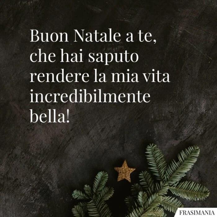 Sei la stella cometa che illumina questa magica e santa notte che annuncia la nascita di nostro signore. Auguri Di Natale Amore Mio Le 50 Frasi Di Auguri Piu Dolci E Romantiche Con Immagini