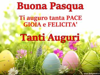 Immagini Pasqua con frasi di auguri Buona Pasqua