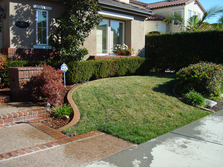 Before And After Photos Artificial Turf Synthetic Grass Los Angeles Frass