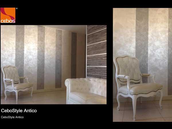 Nell'immagine, sul muro, la pittura h y 7336 mimetika di baldini vernici:. Pitture Decorative Forli Cesena Vernici Decorazioni Tinte Murali Cebos Color Rivenditori