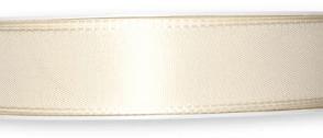 Nastro taffeta Avorio 25mm