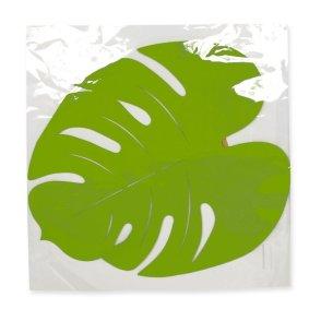 Foglie verdi feltro Philodendro
