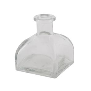 Bottiglia vetro base quadrata