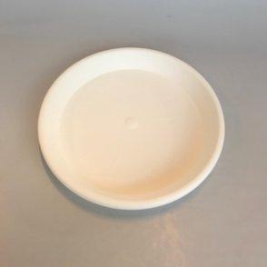 Sottovaso plastica Cilindro – Bianco