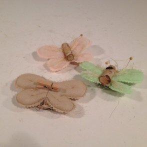 Farfalla panno 3 colori assortiti