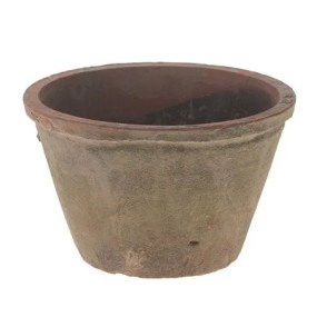 Vaso terracotta rosso antico