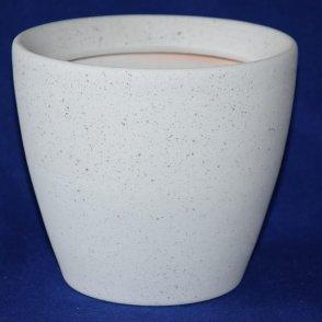 Vaso ceramica Rustica Sabbia bianca
