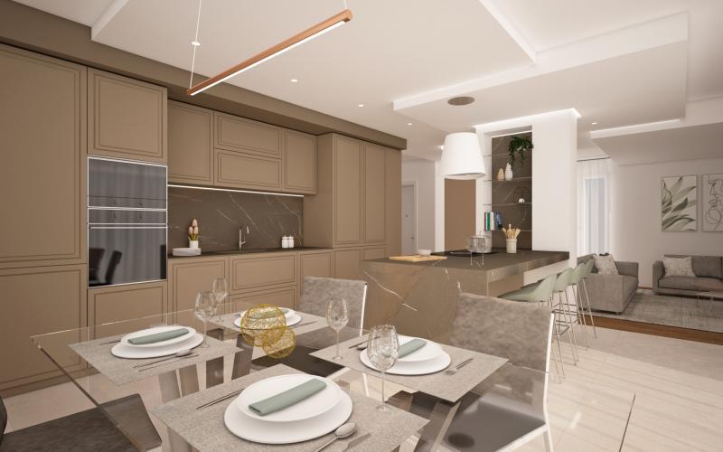Living molto ampio in stile classico contemporaneo. Open Space Arredi Cucine Idee E Progetti Fratelli Pellizzari