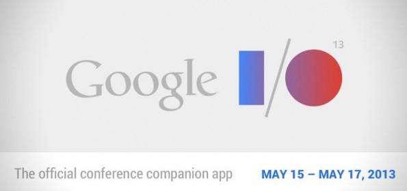 Google I/O 2013: Applicazione ufficiale per seguire evento Google