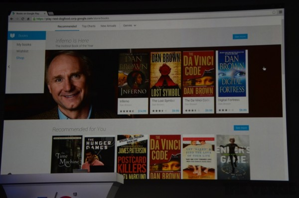Google Play Store Web: Nuova grafica