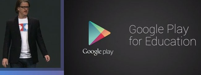 Google I/O 2013: Google Play for Education per insegnare