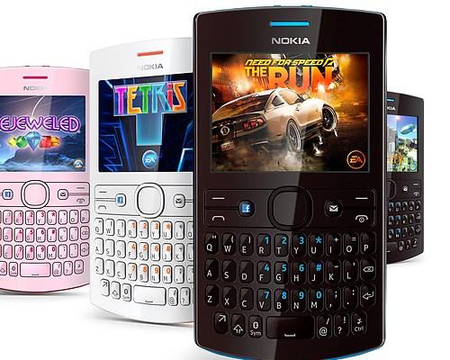 Nuovi cellulari Nokia Asha a meno di 100 euro