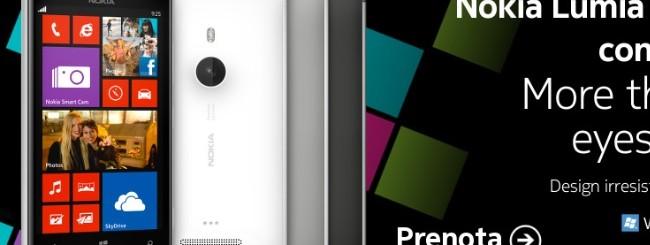 Nokia Lumia 925: Preordine in Italia al prezzo di 599,90 euro