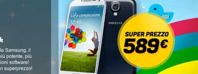 Offerta Samsung Galaxy S4 Garanzia Italia a 589 euro da Gli Stockisti