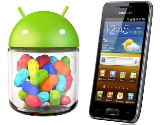 Samsung Galaxy S Advance: Scaricare e installare Android 4.1.2 Jelly Bean