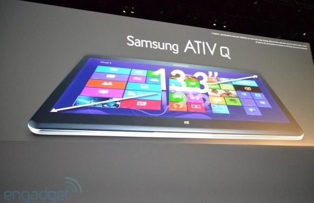 Samsung ATIV Q: Caratteristiche tecniche ufficiali