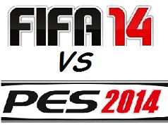 FIFA 14 contro PES 2014: Video con immagini facce