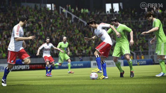 FIFA 14: Video partita iniziale (gameplay)