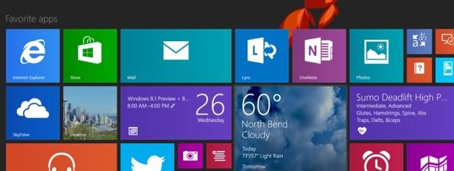 Windows 8.1 Preview: Novità presentazione