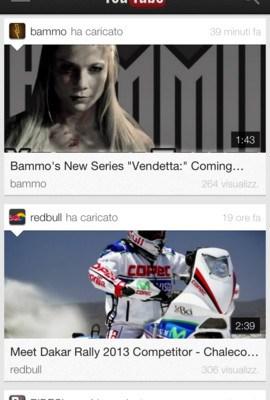 YouTube per iOS versione 1.4: Novità